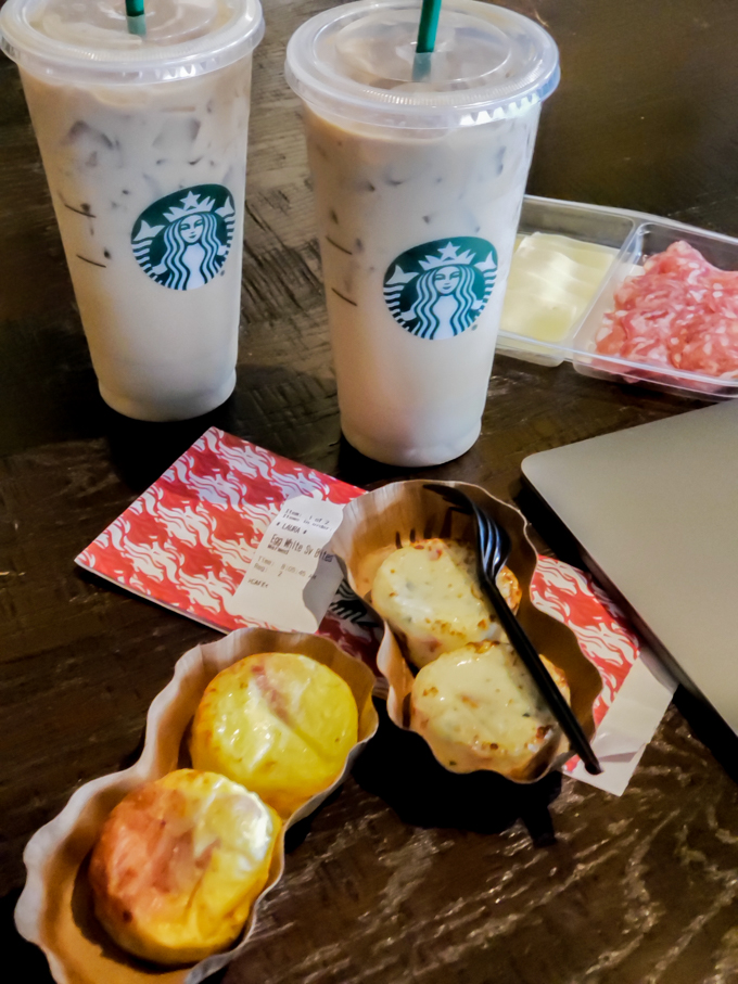 Today we're sharing The Best Keto Friendly Starbucks Food to order. We're navigating hot foods, the cold case and pre-packaged foods.