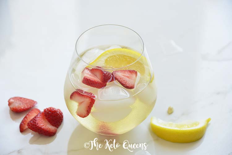 Iced Strawberry Lemon Tea Recipe