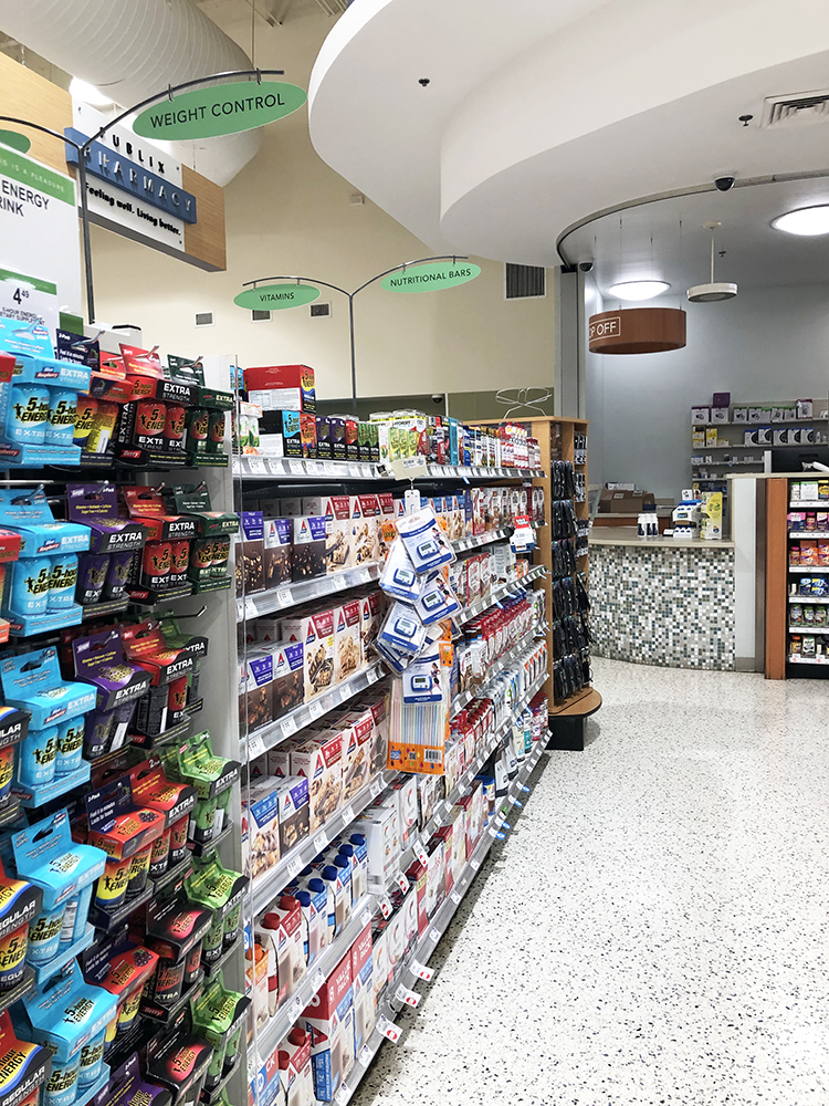 ZonePerfect Aisle at Publix
