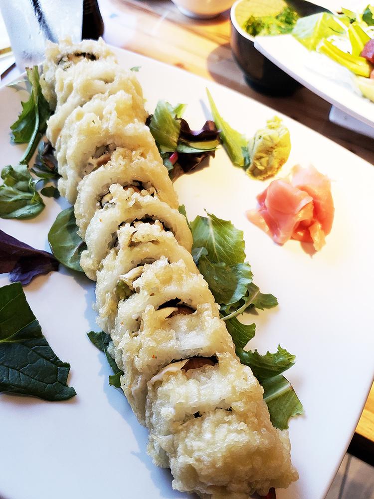 fried roll at soho sushi