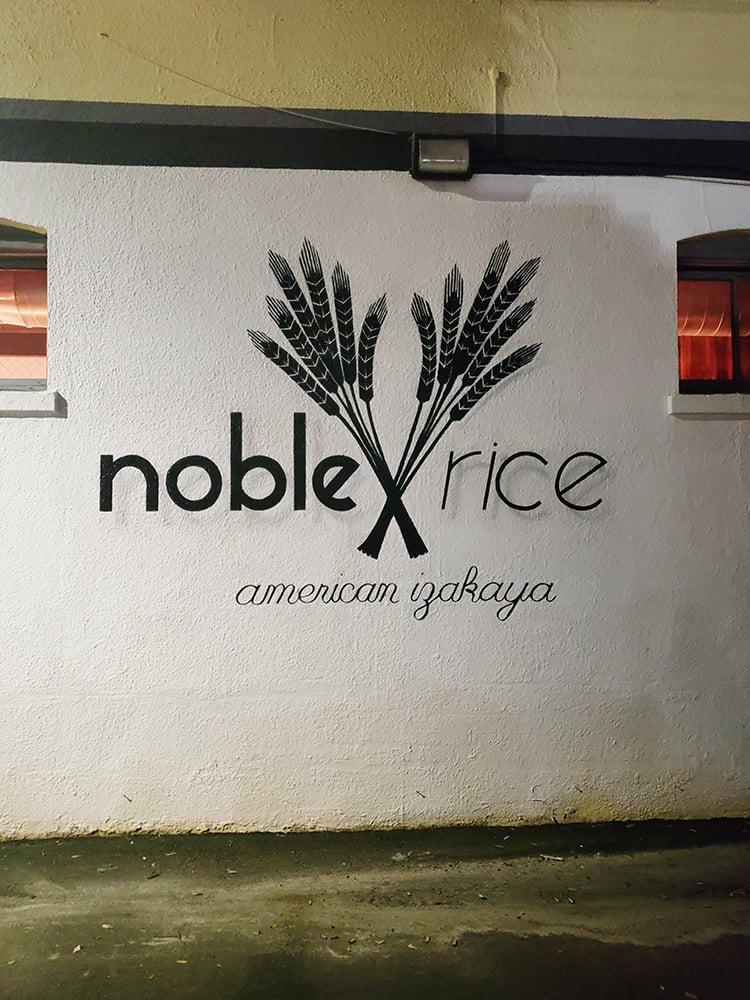 noble rice outside