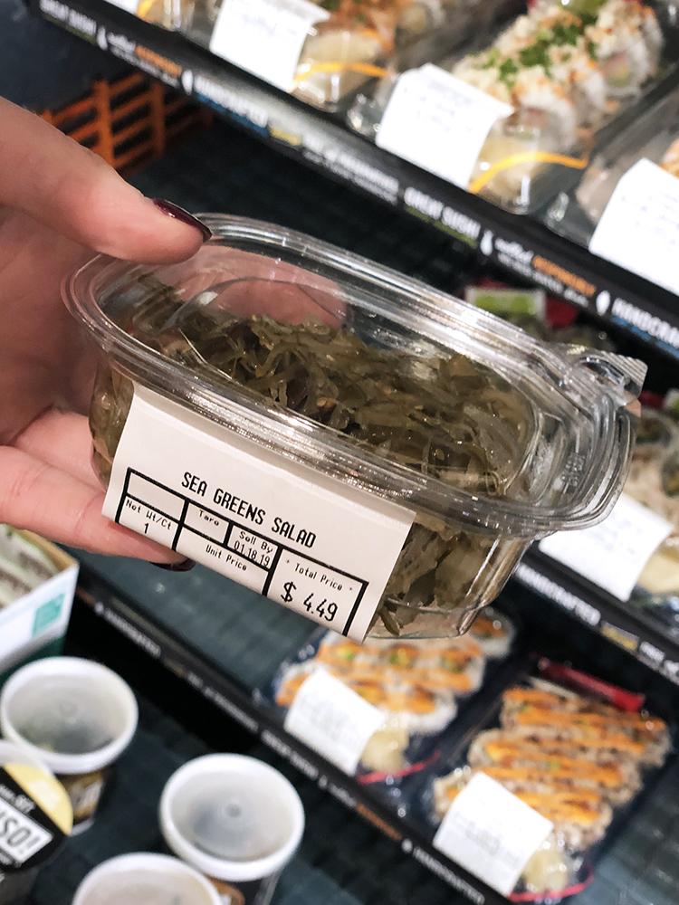 sea greens salad whole foods