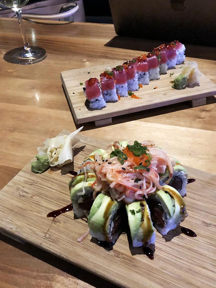 sushi at sake 23