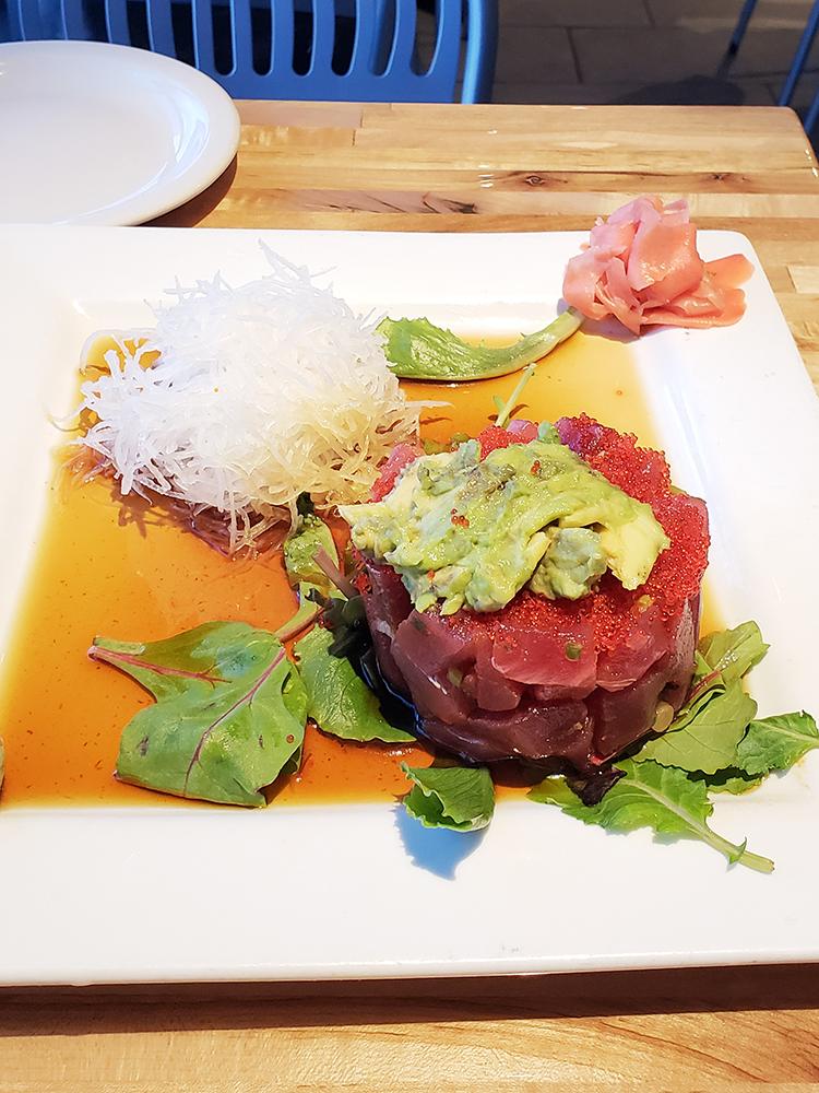 tuna at soho sushi