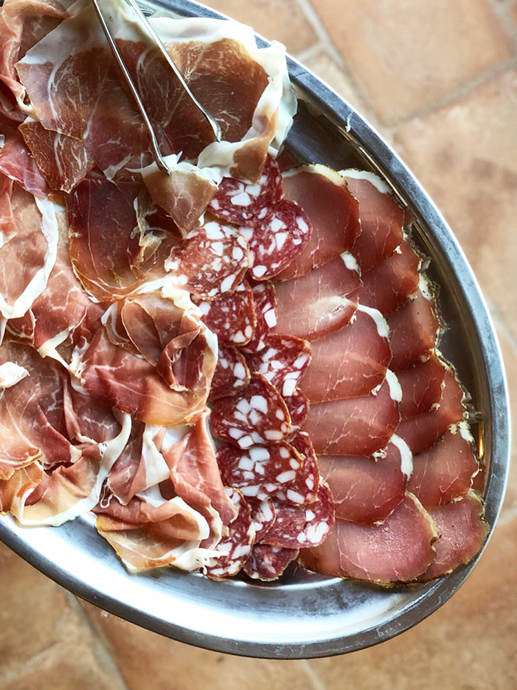 Charcuterie Platter in Tuscany