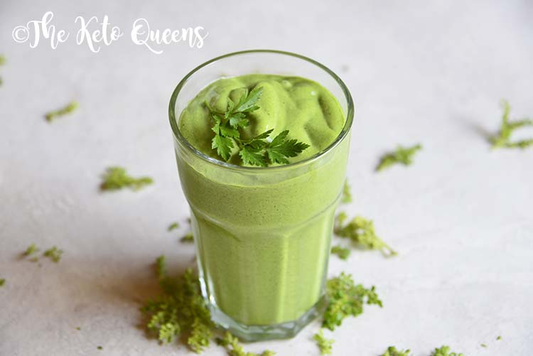 The Best Keto Green Smoothie – Detox Green Smoothie