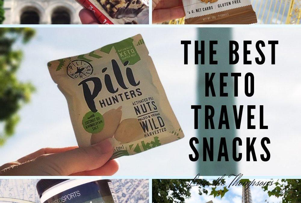 The Best Keto Travel Snacks!