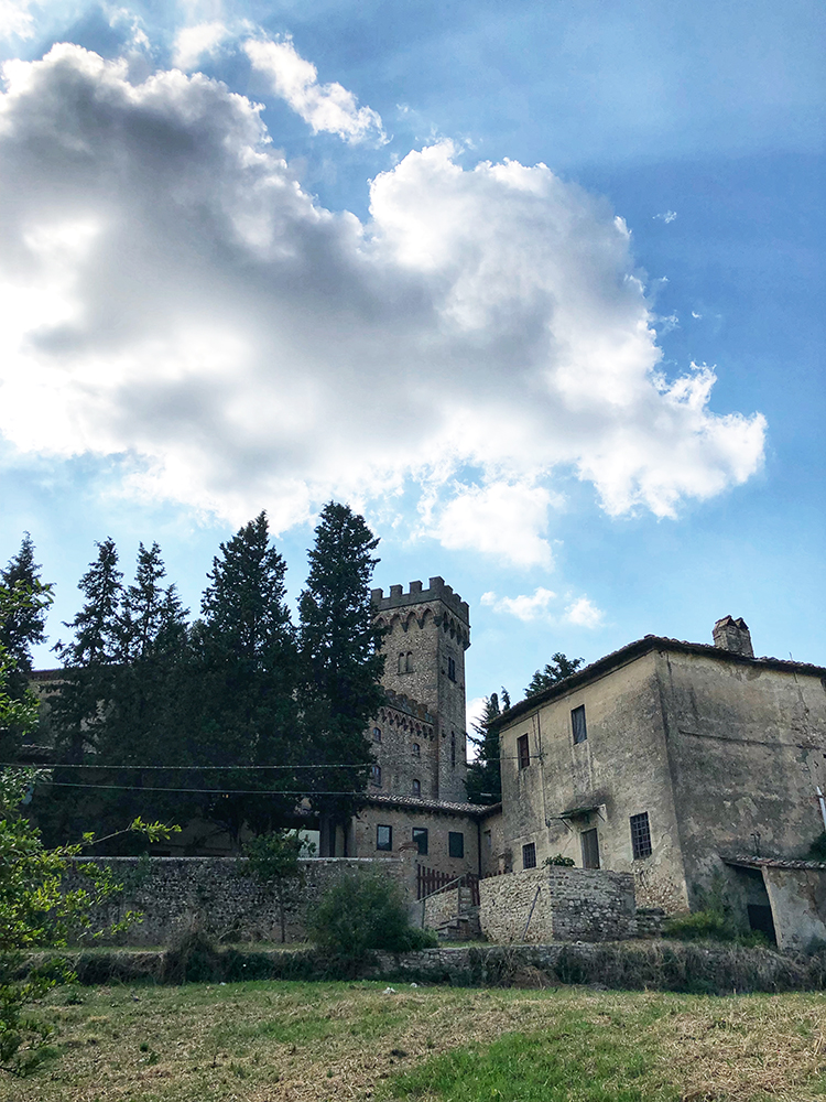 Tuscan Castle