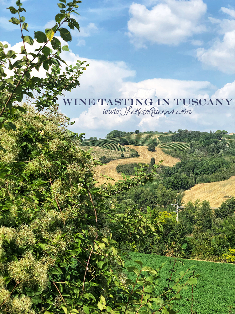 Rolling Hills of Tuscany and Wine Tasting in Tuscany Italy
