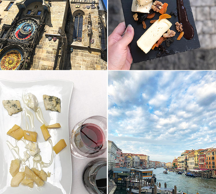 Wine and Cheese in Europe