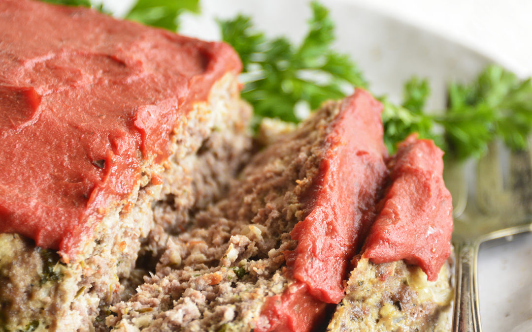 Classic Pressure Cooker Meatloaf (Low Carb, Keto, Gluten Free)
