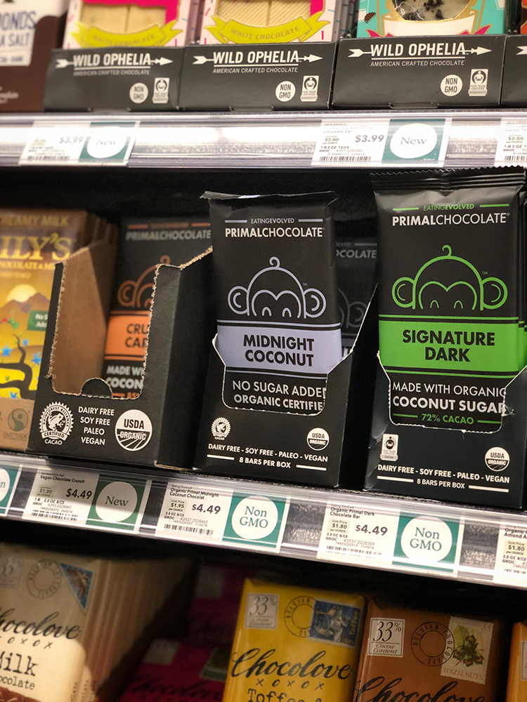Keto Chocolate at Whole Foods