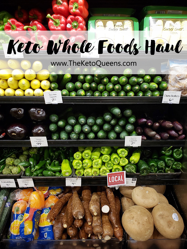 Keto Whole Foods Haul Low Carb Produce