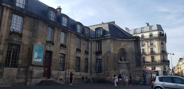 Saint Geermain Des Pres church in Paris