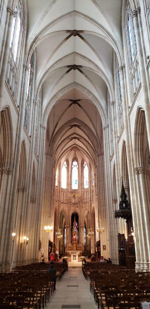 Sainte-clotilde basilica stained glass