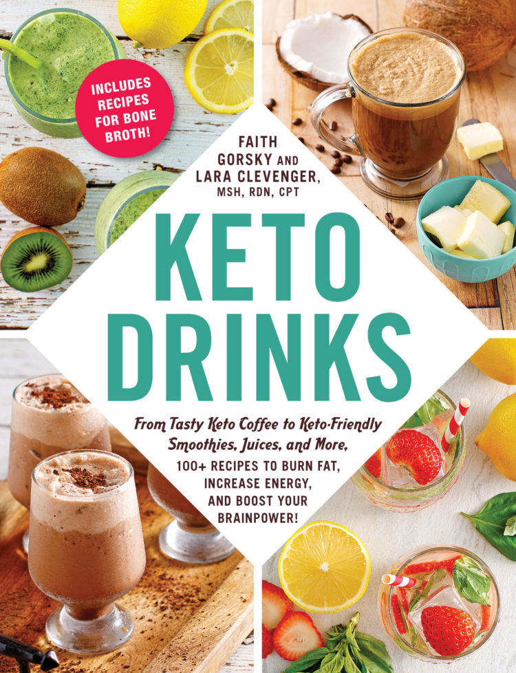 keto drinks cookbook cover