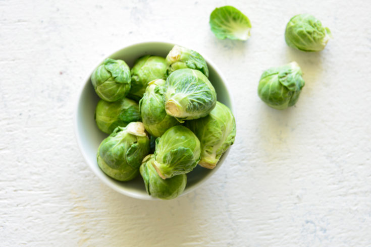 image of brussel sprouts in a bowl