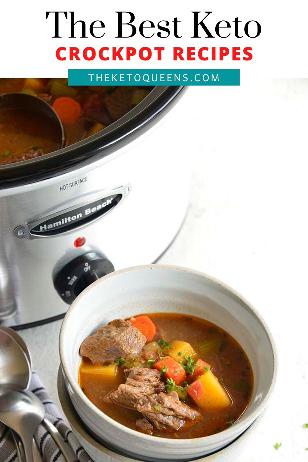 Keto Crockpot Recipes are a great way to save time and serve your family a delicious meal. Low carb slow cooker recipes are also a great way to meal prep for the week to save time and money!