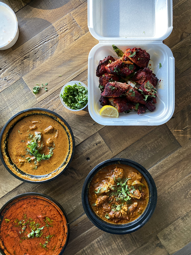 Indian Curries and Chicken Tandoori