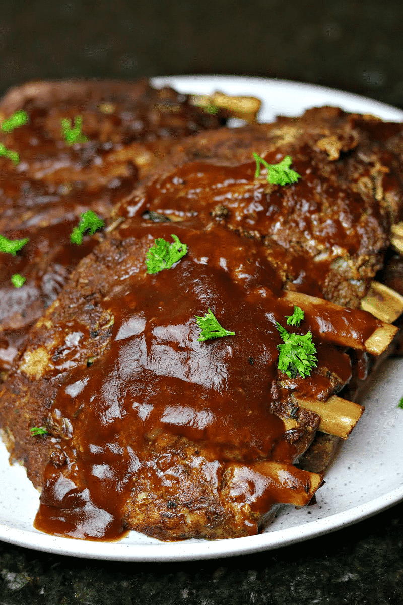 KETO BBQ RIBS RECIPE