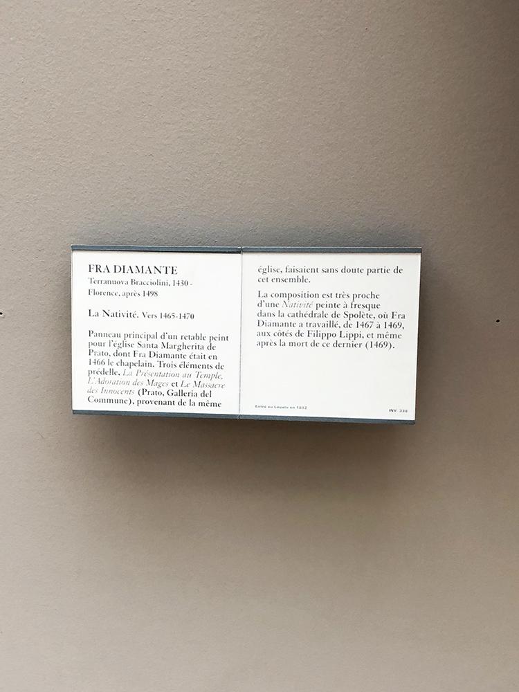 La Nativite Placard