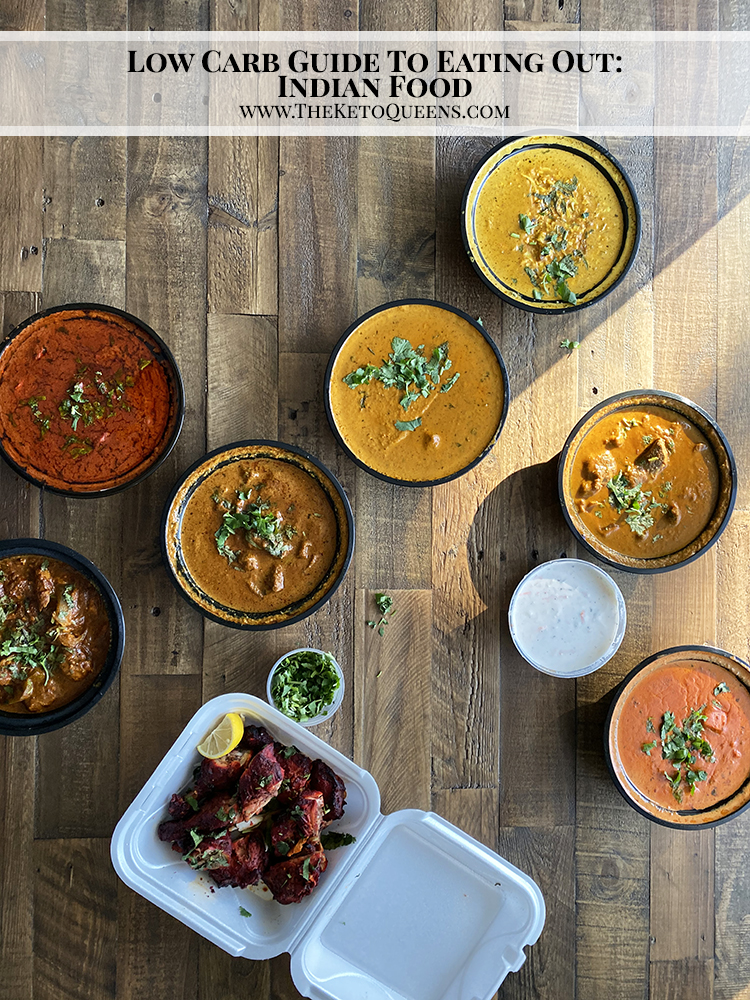 With options like grilled meat and fish, rich curries, and fan favorites like Butter Chicken and Chicken Tikka Masala, we absolutely had to include Indian Food in our Low Carb Guide to Eating Out!