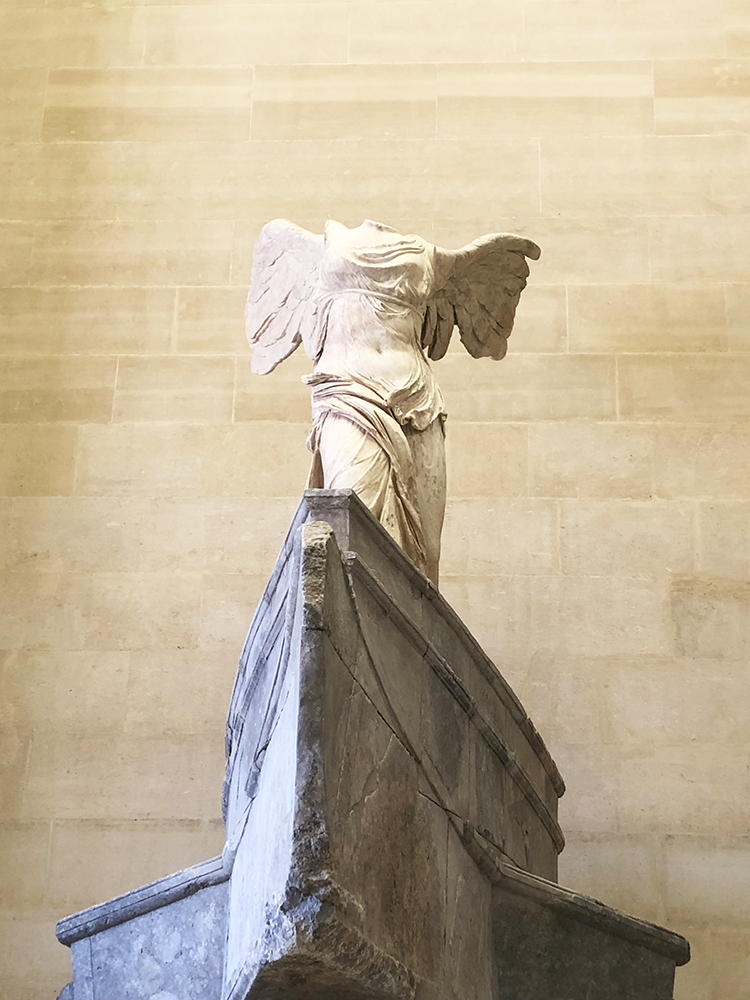 Winged Victory of Samothrace Close Up