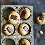 almond butter chocolate kiss cookies featured image