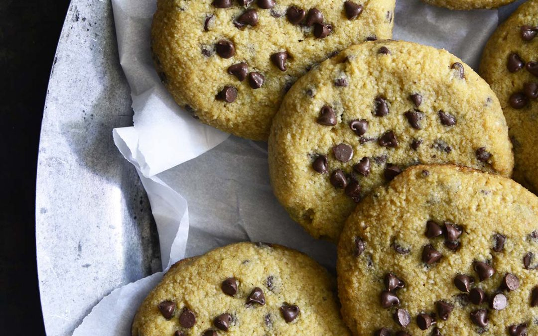 Low Carb Keto Chewy Chocolate Chip Cookies