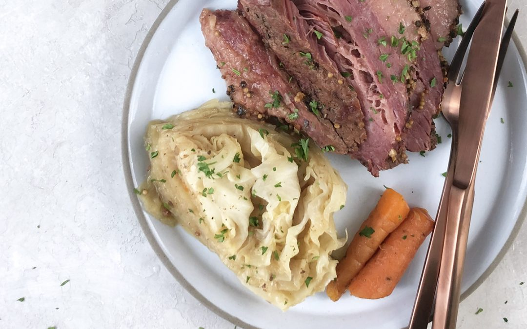 Keto Pressure Cooker Corned Beef and Cabbage (Instant Pot Recipe)