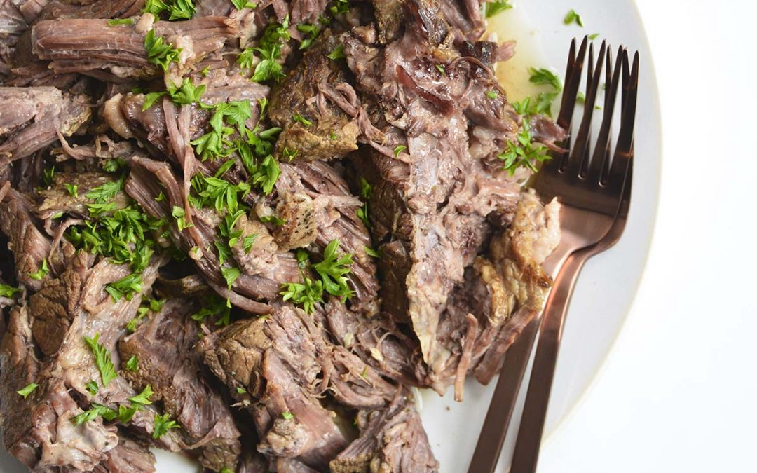 Easy Instant Pot Chuck Roast Recipe – Slow Cooker Directions Too!