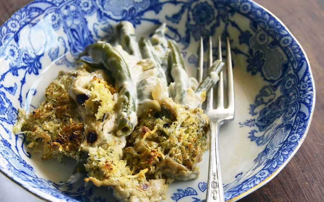 Low Carb Instant Pot Green Bean Casserole Recipe