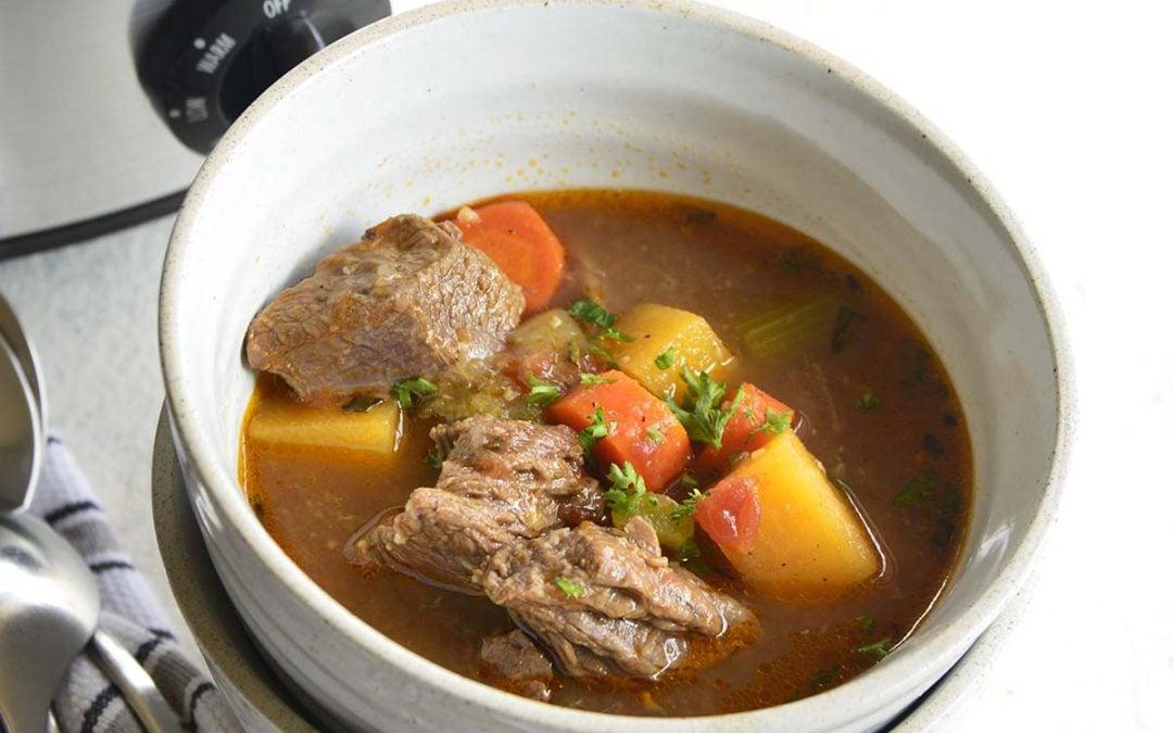 The Best Keto Beef Stew Crockpot Recipe