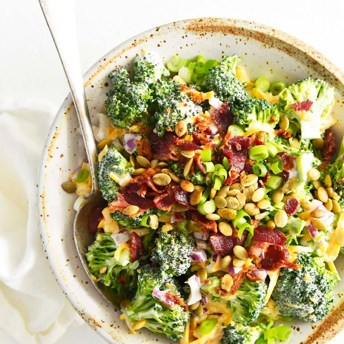 broccoli salad featured image